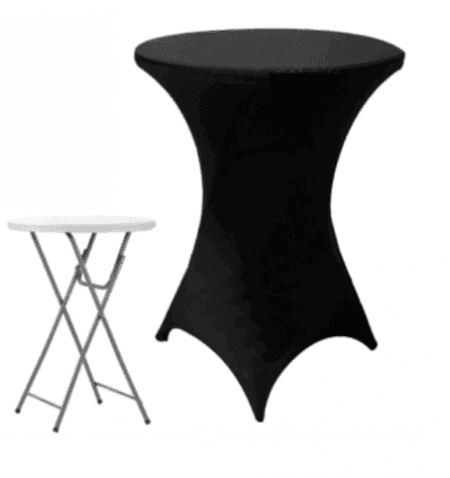 Imagen de Producto Mantel Licra Cocktail Alta Negro