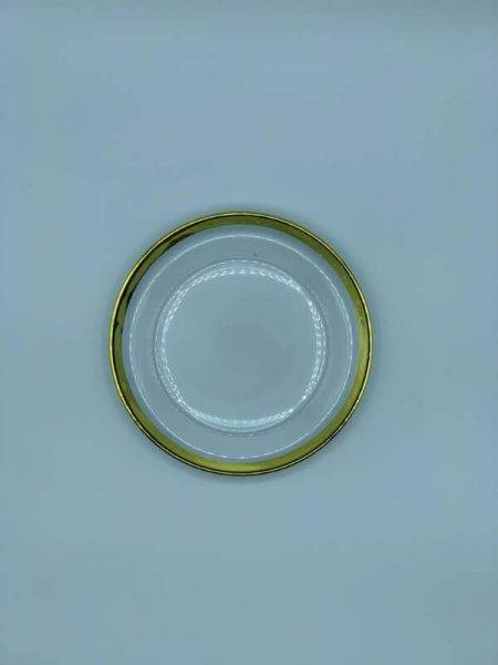 Imagen de Producto Plato pan Cristal Filo Oro