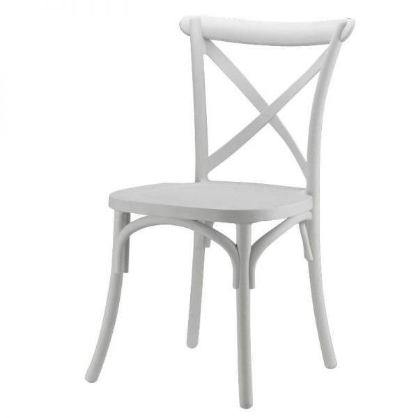 Imagen de Producto Silla Crossback Blanca