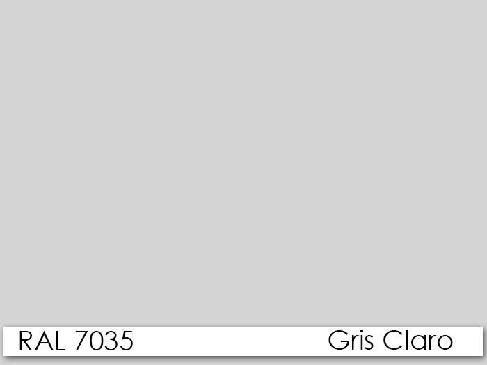 armario otelo metalico puertas abatibles gris claro 90x40x185 cms 1