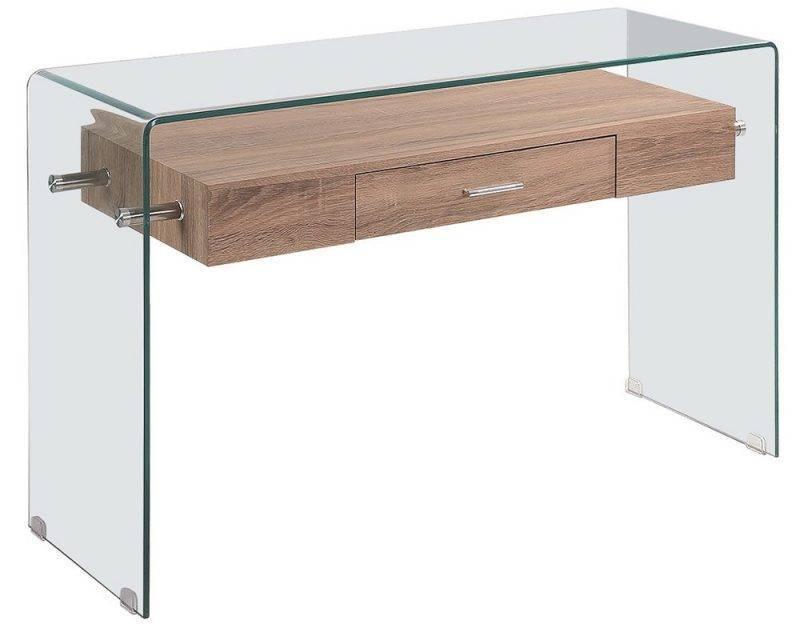 consola marilyn madera cristal 120x40 cms