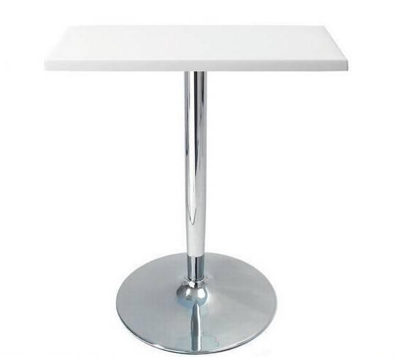 mesa criss cromada tapa de 60 x 60 cms color a elegir