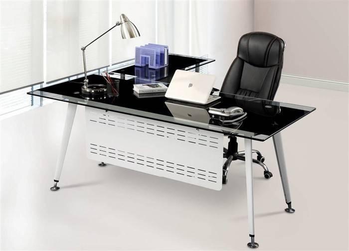 mesa doha mueble a derecha cristal 180x85 cms