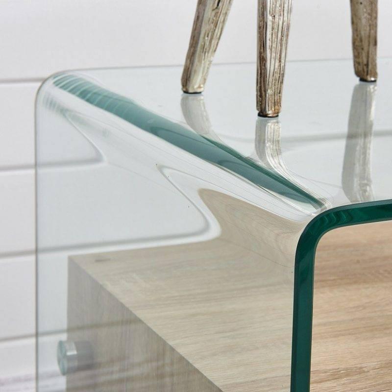 mesa marilyn baja madera cristal 50x50 cms 2