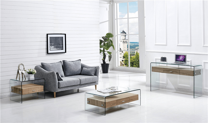 mesa marilyn baja madera cristal 50x50 cms 3
