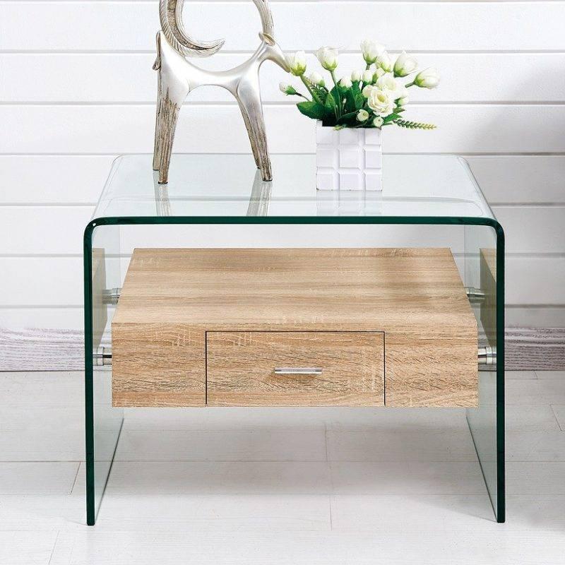 mesa marilyn baja madera cristal 50x50 cms 4