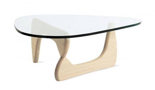 mesa nog baja madera de fresno cristal de 19 mm 130x93 cms