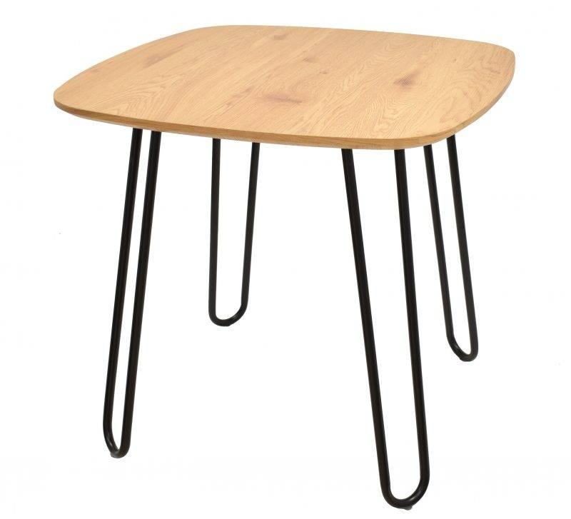 mesa romina metal tapa de dm acabado natural 120x80 cms 1 scaled
