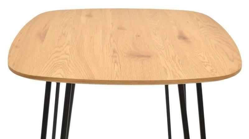 mesa romina metal tapa de dm acabado natural 120x80 cms 2 scaled