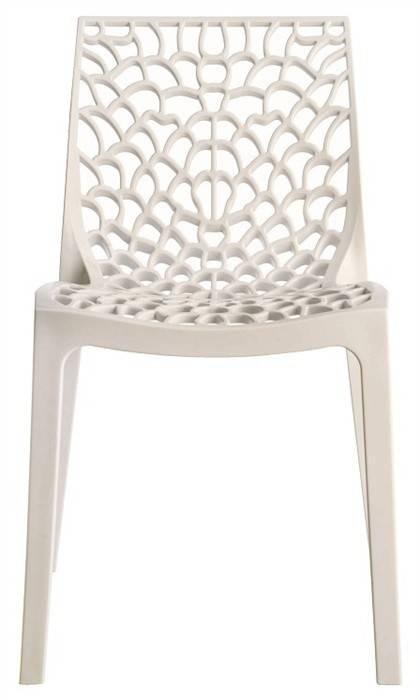 silla capricho polipropileno blanco