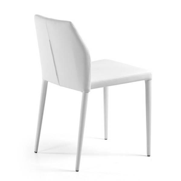 silla larbi tapizada blanca 2