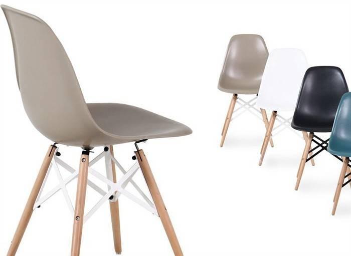 silla star madera abs rojo 1