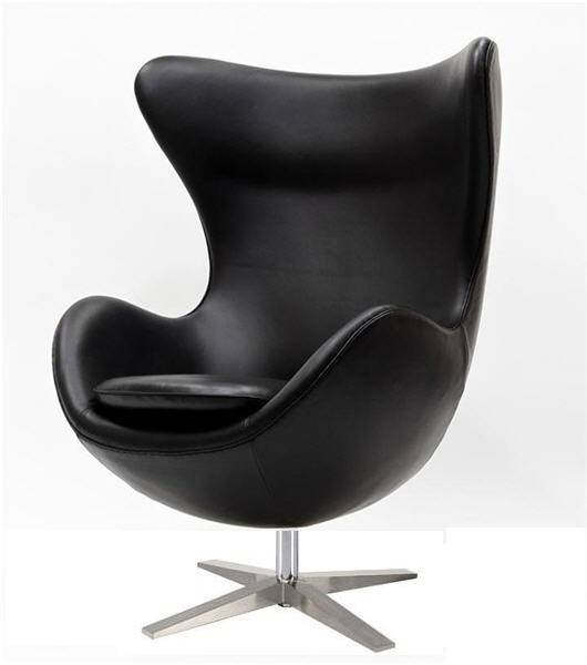 sillon eg 66 tapizado similpiel negra