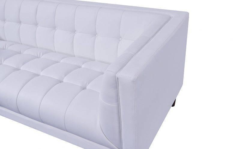 sofa lewis 2 plazas similpiel blanca 2
