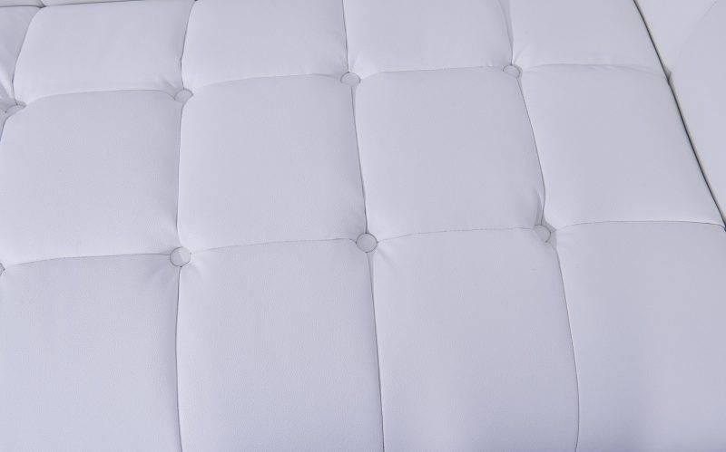 sofa lewis 2 plazas similpiel blanca 3