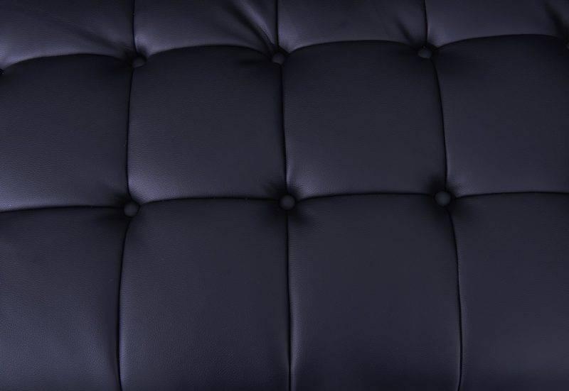 sofa lewis 2 plazas similpiel negra 3