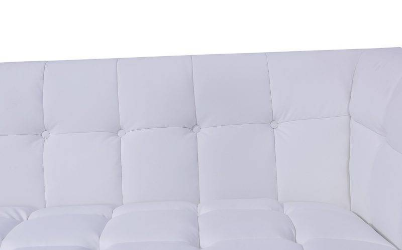 sofa lewis 3 plazas similpiel blanca 5